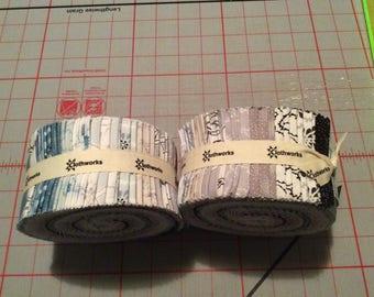 Lilliana jelly roll by Clothworks