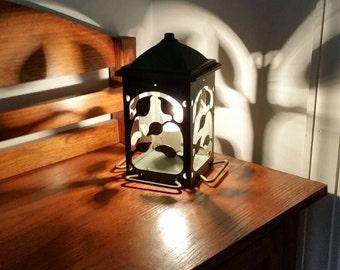 Feed the Birds Reflection Lamp Light Bird Feeder Garden Decor Mood Lighting