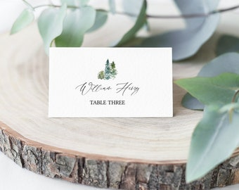 Snowflake Name Place cards Wedding place cards for guest name,Table Decorations