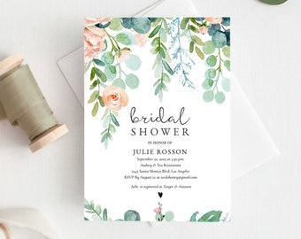 Bridal Shower Invitations Etsy