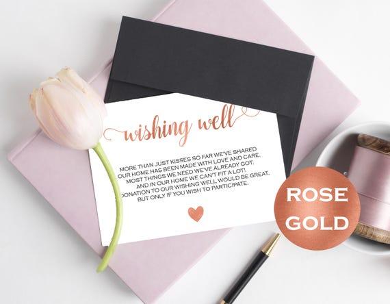 wishing well card wedding wishing well wishing well template