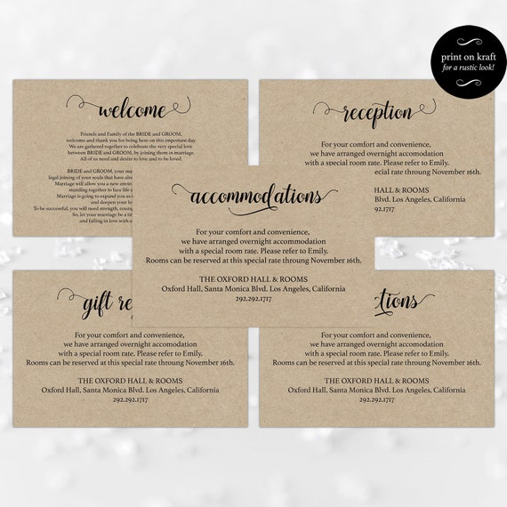 Enclosure Cards For Wedding Reception Card Gift Registry Card