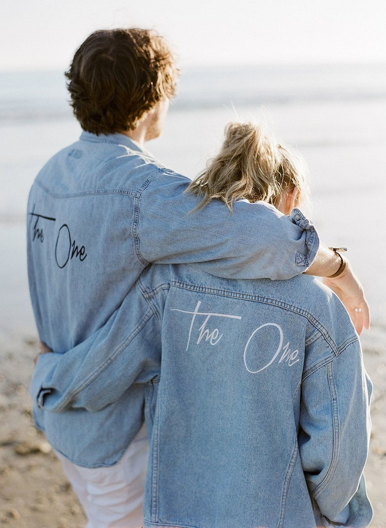 Bohemian Denim Jacket  Team Bride image 0