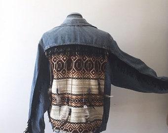 Bohemian Denim Jacket | ⤚ROXANNE⤛