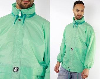 a8b2d54a54d4 Waterproof Jacket Rain Jacket Festival Jacket Festival Clothing K Way  Jacket Zip Jacket Mens Jacket 80s Windbreaker Vintage Clothing JA84