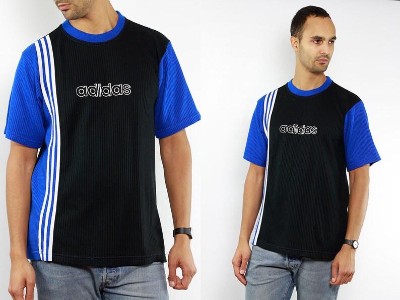 online store e1529 cb311 T-Shirt ADIDAS Vintage Adidas T-Shirt   chemise Adidas   90 s   Etsy