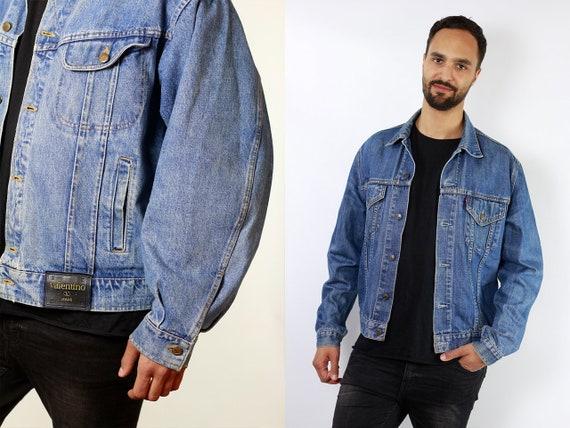 Levis Jean Jacket Levis Denim Jacket Small Denim Jacket Small Jean Jacket 80s Denim Jacket 80s Jean Jacket Mens Vintage Clothing DJ95