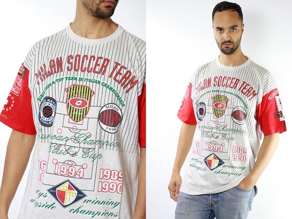Vintage T-Shirt Vintage T Shirt 90s T-Shirt Soccer T-Shirt Oversize T-Shirt Soccer 90s T-Shirt Oversize T-Shirt 90 Streetwear T-Shirt T33