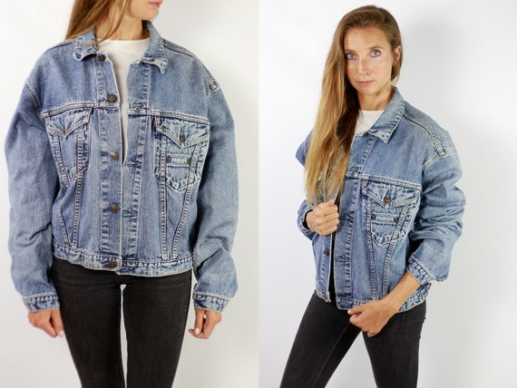 LEVIS Denim Jacket Levis Jean Jacket Denim Jacket Levis Large Jean Jacket 90s Levis Jacket Blue Vintage Denim Jacket Vintage Levis JJ270