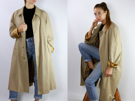 BURBERRYS Trenchcoat Vintage Burberry Coat Beige Women Trenchcoat BURBERRY Trench Coat Vintage Coat Burberry Jacket Beige Coat Burberry CO22