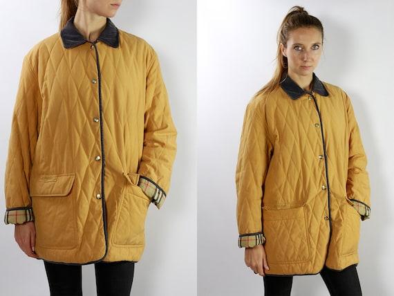 Burberry Coat, Quilted Coat, Vintage Burberry Coat, Burberry Jacket, Vintage Jacket, Burberry Quilted Coat, Womens Coat, Burberrys CO38