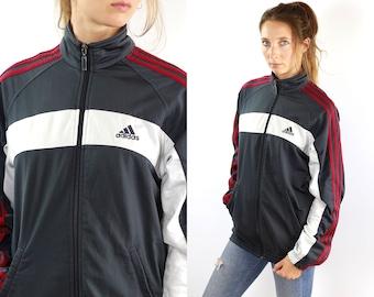Adidas Windbreaker Adidas Shell Jacket Adidas Track Jacket Adidas Jacket Vintage Windbreaker Vintage Shell Jacket Vintage Track Jacket 90s