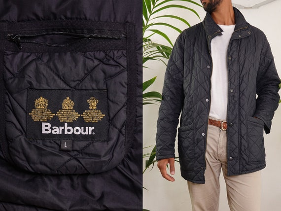 Barbour Jacket Black Quilted Barbour Coat Barbour