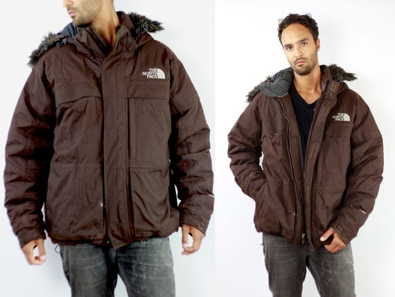 North Face Jacket North Face Winter Jacket 90s Jacket North Face 90s Puffer Jacket 90s Oversize Down Jacket Brown 90s North Face J130