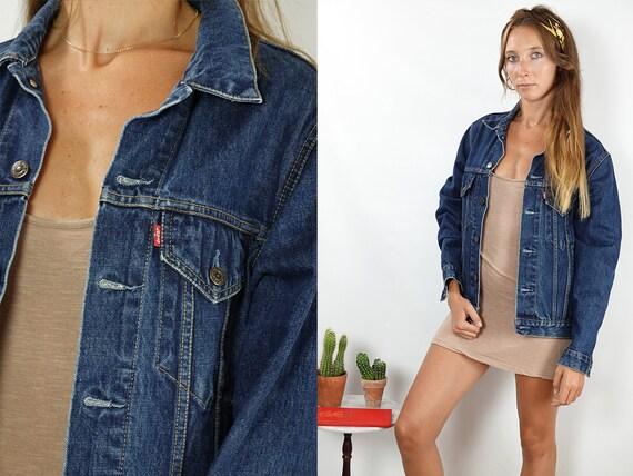 Levis Denim Jacket Levis Jean Jacket LEVIS Jacket Vintage Levis 80s Denim Jacket 80s Jean Jacket Women Jacket Hipster Vintage Clothing DJ144