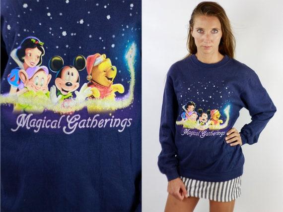 Oversize Sweatshirt  Disney Sweatshirt Vintage Sweatshirt Disney Hoodie Oversize Hoodie 90 Sweatshirt 90 Hoodie