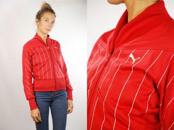 Puma Shell Jacket / Puma Windbreaker / Puma Track Jacket / Puma 90s Jacket / Puma Tracksuit / Puma Retro / Vintage Windbreaker / 90s Jacket