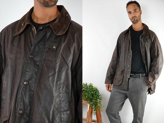 Barbour Jacket Barbour Coat Vintage Wax Jacket Vintage Wax Coat Barbour Bedale Coat Barbour Bedale Jacket Brown Barbour Coat Brown C77
