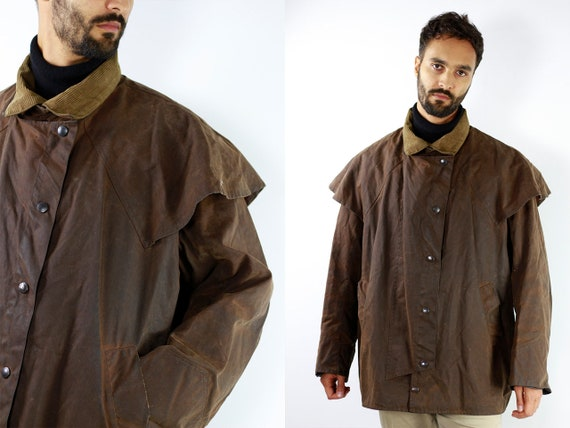 Barbour Jacket Barbour Coat Vintage Wax Jacket Vintage Wax Coat Barbour Bedale Coat Barbour Bedale Jacket Brown Barbour Coat Brown CO11