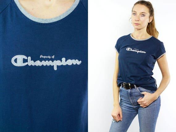 Champion T-Shirt  / Champion 90s / Champion Retro / Champion Vintage / Champion Top / Champion T Shirt / Champion T-Shirt / Champion Women