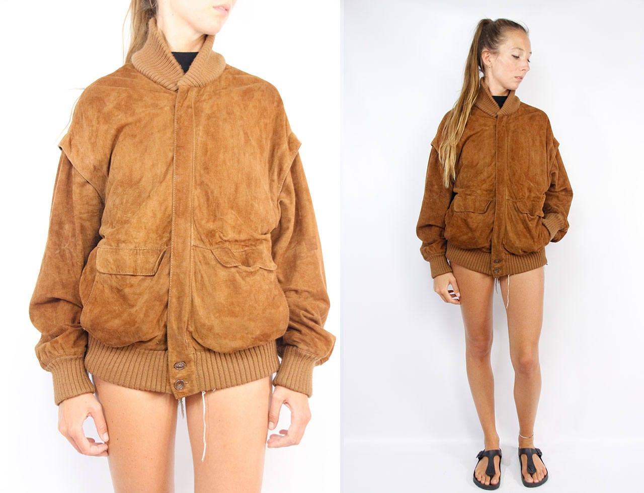 Suede Jacket Brown   Suede Jacket Large   Suede Jacket Women ... 3fd2067cae