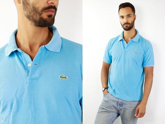 Lacoste Poloshirt Blue Poloshirt Lacoste Polo Shirt Vintage Lacoste Polo Shirt Lacoste Shirt Blue Polo Shirt Vintage Lacoste Shirt 90s Polo