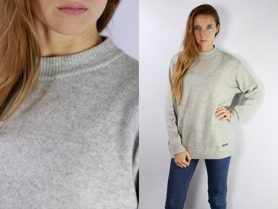 Turtleneck Jumper Vintage Wool Jumper Norwegian Sweater Norwegian Jumper Scandinavian jumper scandinavian Sweater Jumper Oversize P10