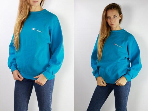 Champion Sweatshirt Blue / Champion Sweatshirt / 90s Champion Sweater / Champion 90s / Champion Sweat Shirt / Oversize Sweatshirt / S5