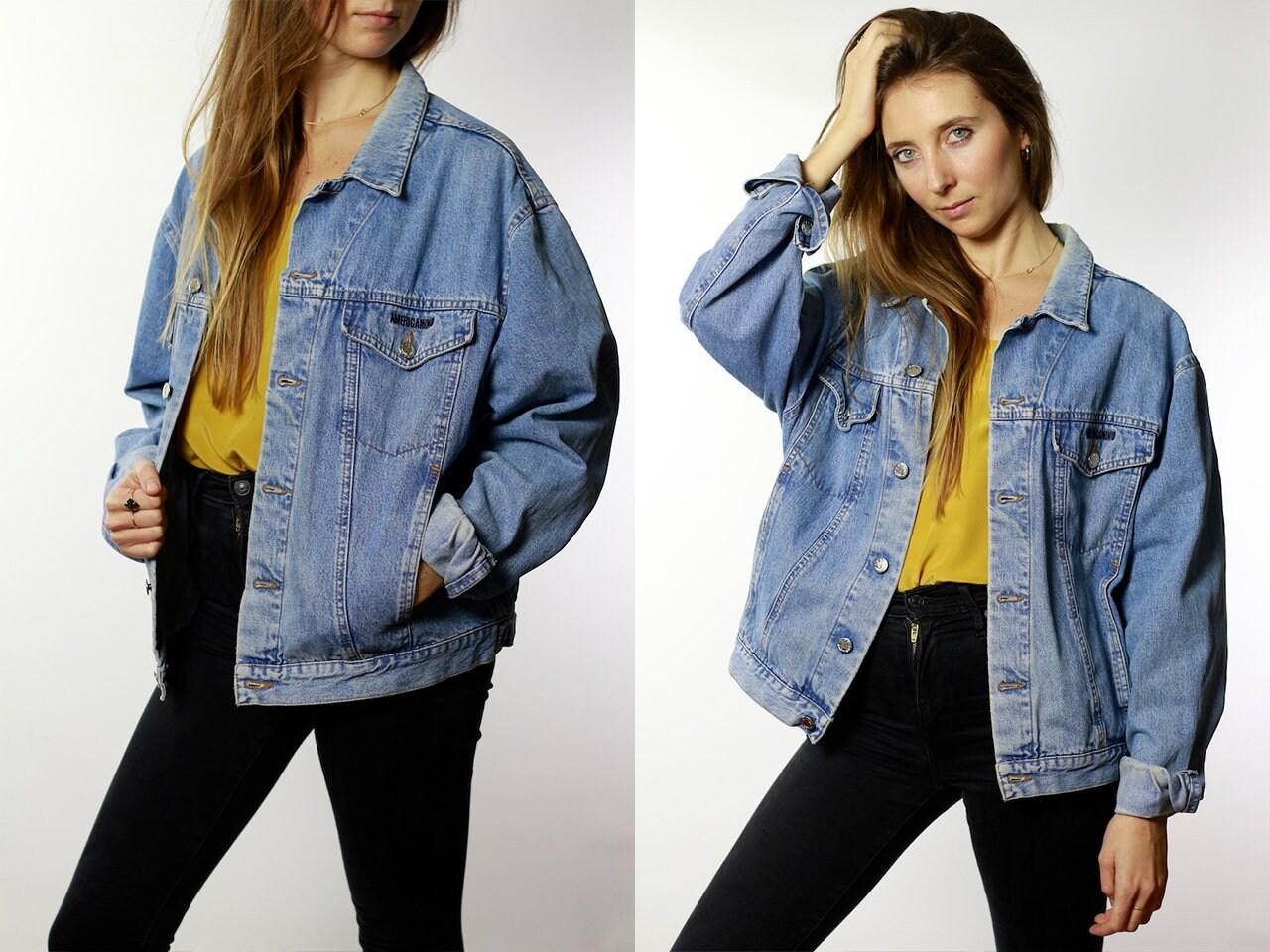 29f81571acc Denim jacket vintage jean jacket denim jacket blue jean jacket jpg 1280x960 Grunge  jackets for women