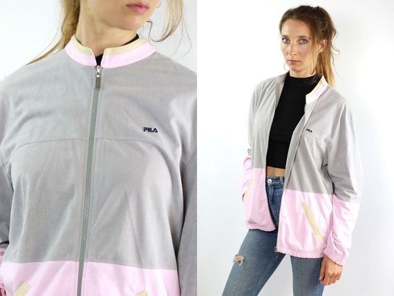 Fila Windbreaker Fila Track Jacket Fila Jacket Fila Shell Jacket Vintage Windbreaker Vintage Shell Jacket 90s Windbreaker 90s Track Jacket