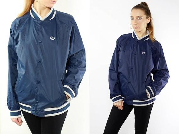 Nike Jacket Blue / Bomber Jacket Nike / Nike Raincoat / Blue Jacket / Jacket Nike / Vintage Nike Jacket / 90s Jacket Nike / 90s Nike
