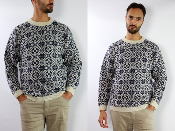 Wool Jumper Norwegian Sweater Norwegian Jumper Scandinavian jumper scandinavian Sweater Nordic Jumper Nordic Sweater Oversize Jumper WP60