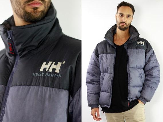 Helly Hansen Jacket / Oversize Down Jacket / Helly Hansen / 90s Down Jacket / Black Down Jacket / Black Down Coat / Puffer Jacket JA29