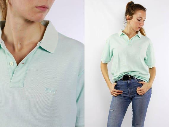Fila / Fila Vintage / Fila Retro / Fila Polo Shirt / Fila Shirt / Fila T Shirt / Fila T-Shirt / Fila Top / Fila Women / Fila Polo / 90s Tee