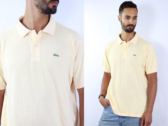 LACOSTE Poloshirt Lacoste Polo Shirt Lacoste Orange Poloshirt Lacoste Vintage Top 90s Top Lacoste Top Lacoste T-Shirt 90s Top Lacoste Shirt