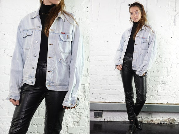 Denim Jacket Vintage Jean Jacket Denim Jacket Blue Jean Jacket Women Grunge Jacket Vintage Denim Jacket Denim Jackets 90s Denim Jacket DJ204