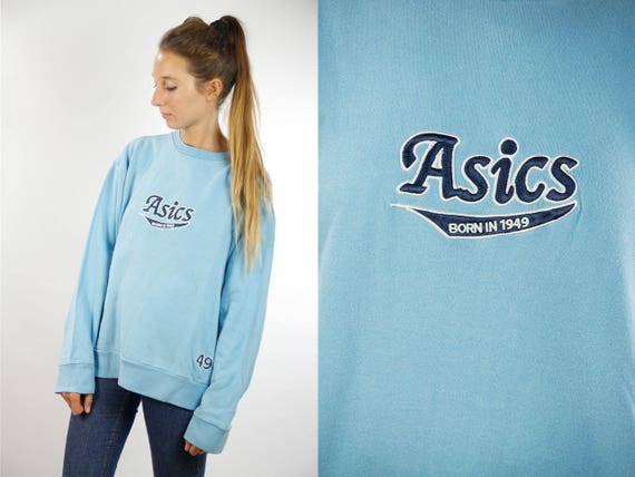 Asics Sweatshirt / Asics Hoodie / 90s Sweatshirt / 90s Jumper / Asics Jumper / Asics 90s / Asics / Oversize Sweatshirt / Asics Jumper