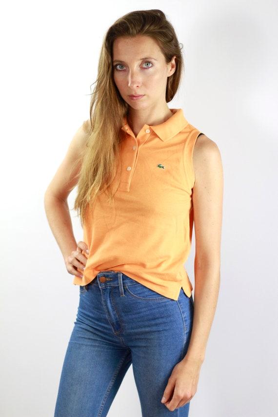 fdd1447f9 Lacoste Poloshirt Orange Poloshirt Lacoste Polo Shirt Vintage