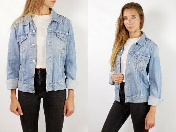 LEVIS Denim Jacket Levis Jean Jacket Denim Jacket Levis Large Jean Jacket 90s Levis Jacket Blue Vintage Denim Jacket Vintage Levis JJ259
