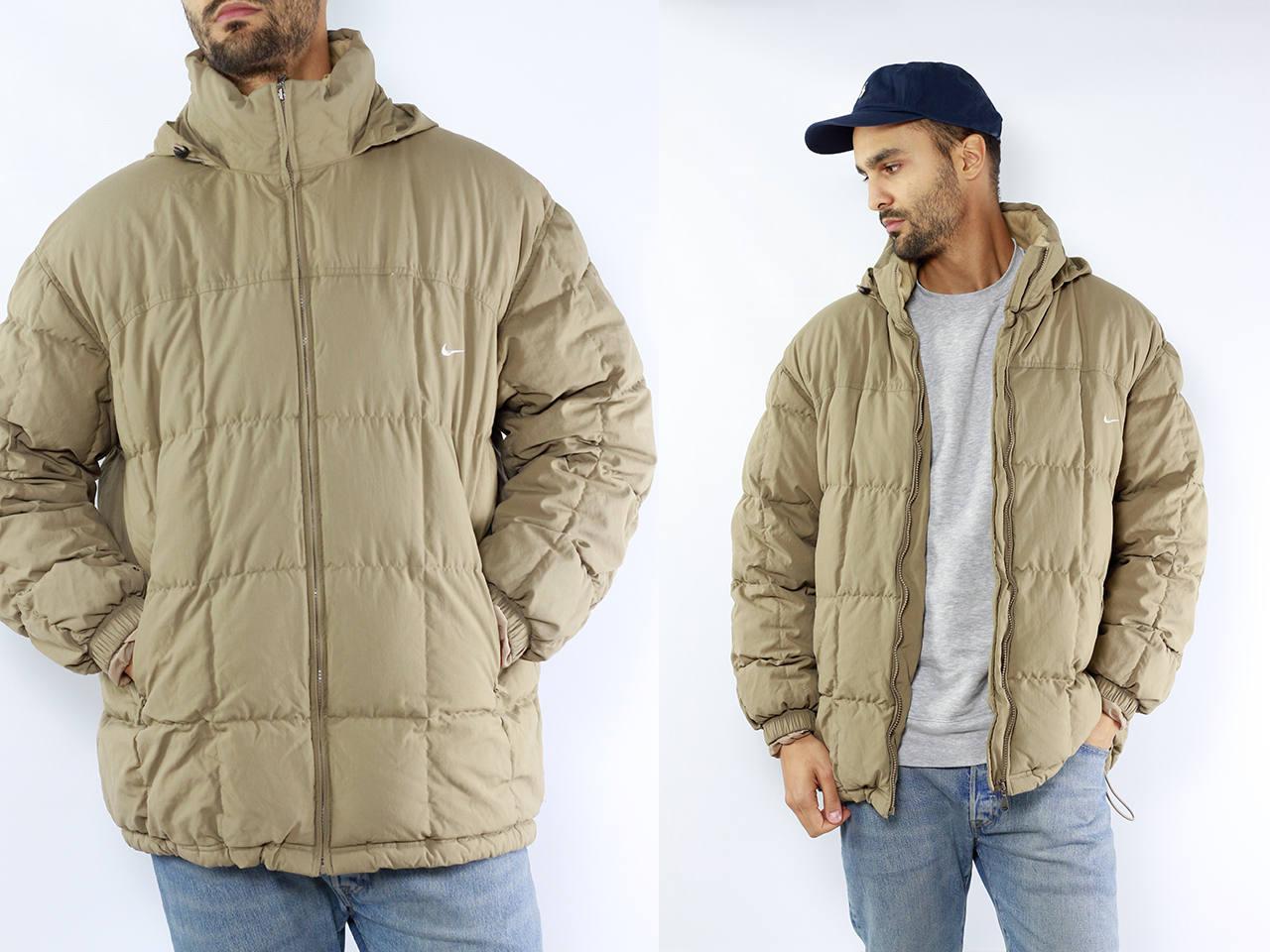 c1d093de2c13 Nike Puffer Jacket   Beige Nike Jacket   Beige Pufferjacket   Down ...