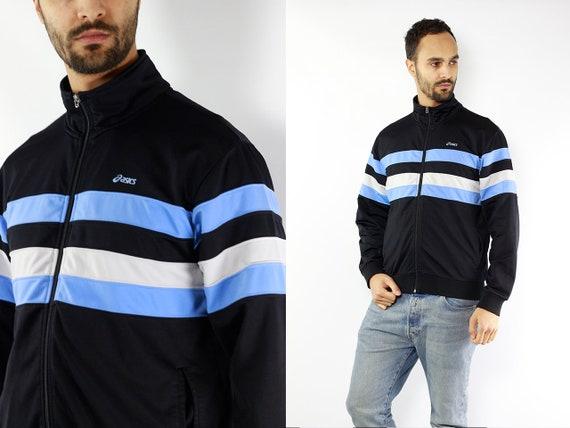 Vintage Windbreaker Vintage Track Jacket 90s Windbreaker Asics Windbreaker Asics Track Jacket Asics 90s Track Jacket 90s Shell Jacket