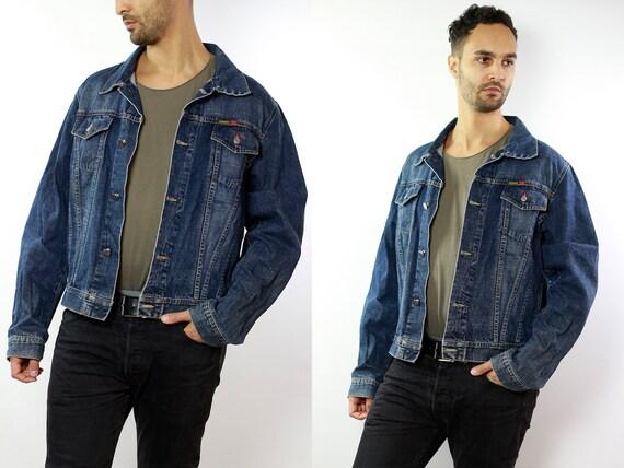 SCHOTT Jean Jacket / Denim Jacket Oversize / Oversized Denim Jacket / Denim Jacket  Vintage Jean Jacket Oversize / Oversize Jean Jacket DJ53