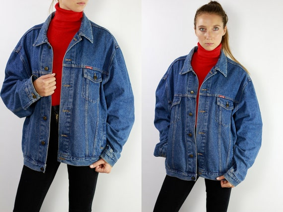 Denim Jacket Vintage Jean Jacket Blue Denim Jacket Large Denim Jacket Grunge Jean Jacket Grunge Denim Jacket Large Jean Jacket Carrera DJ11