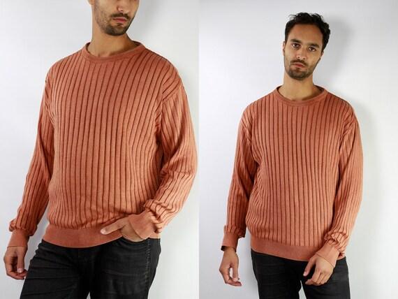Marlboro Jumper / Marlboro Sweater / Ribbed Jumper / Ribbed Sweater / Vintage Wool Jumper / Vintage Wool Sweater / Marlboro Classic S4