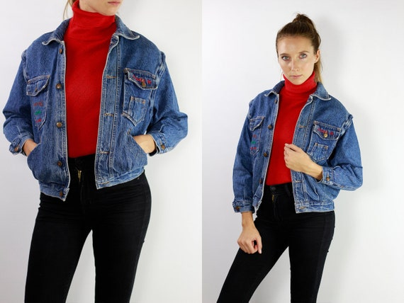 Denim Jacket Vintage Jean Jacket Denim Jacket Blue Jean Jacket Women Grunge Jacket Vintage Denim Jacket Denim Jackets 90s Denim Jacket DJ10