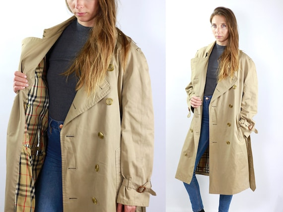 BURBERRYS Trench Coat Burberry Trench Coat Women Burberry Coat Beige Coat Trenchcoat BURBERRY Coat Trench Coat Vintage Trenchcoat Burberry