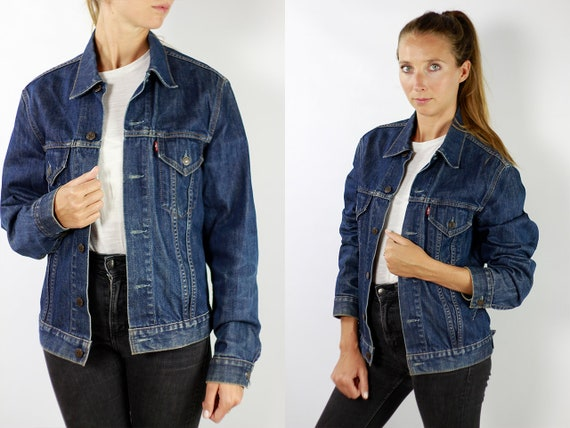 LEVIS Denim Jacket Levis Jean Jacket Denim Jacket Levis Large Jean Jacket 90s Levis Jacket Blue Vintage Denim Jacket Vintage Levis JJ279
