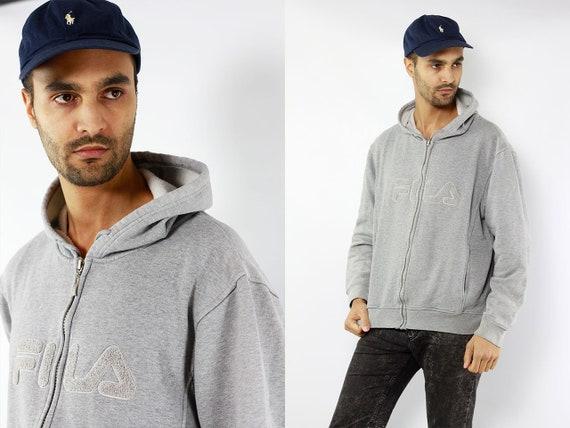 Fila Hoodie Fila Sweatshirt Fila Jumper Vintage Sweatshirt Vintage Hoodie 90s Hoodie 90s Sweatshirt 90s Jumper Vintage Jumper Fila