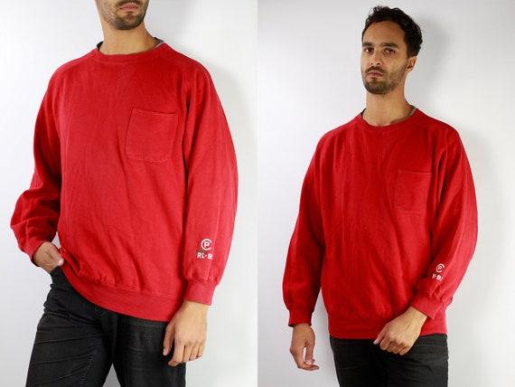 Ralph Lauren Hoodie / Sweater Ralph Lauren / Oversize Sweat Shirt / Oversize Hoodie / 90s Sweat Shirt / 90s Hoodie / Polo Ralph Lauren S3