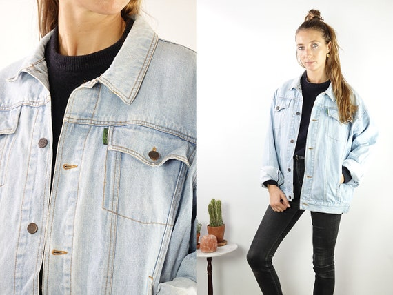 Denim Jacket Vintage Jean Jacket Denim Jacket Blue Jean Jacket Women Grunge Jacket Vintage Denim Jacket Denim Jackets 90s Denim Jacket DJ174
